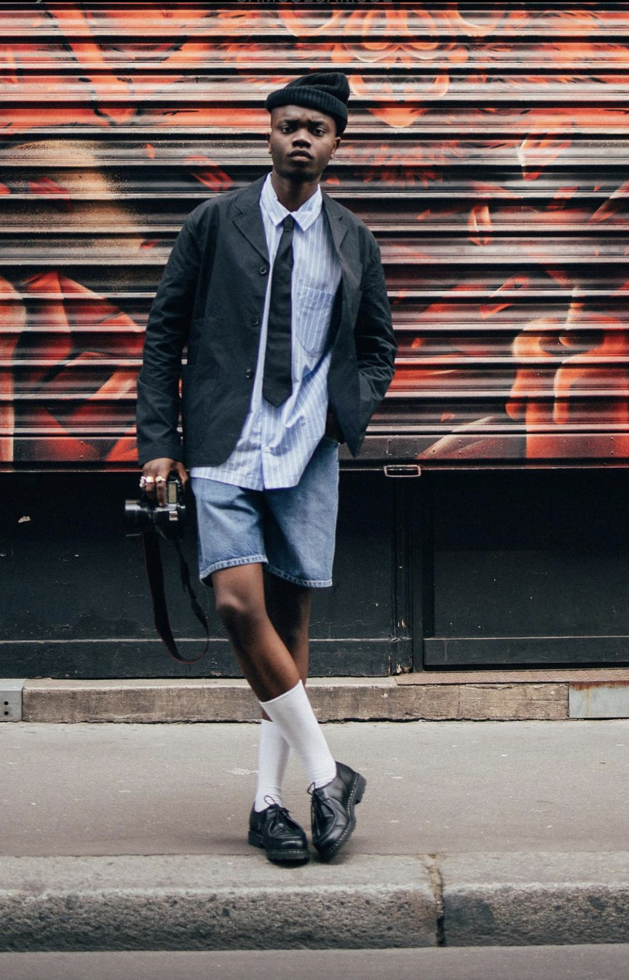 Rory Denim Shorts-3