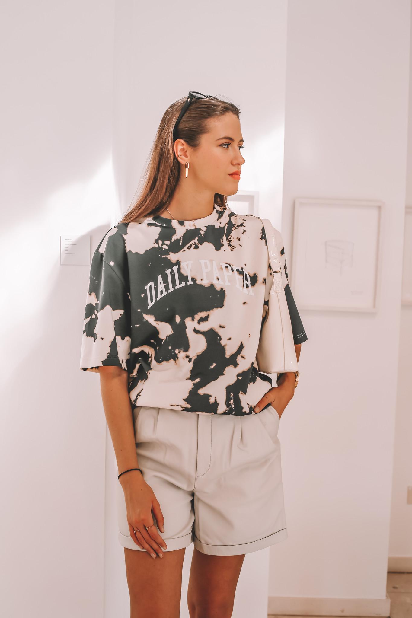 Suzy Leather Shorts-1