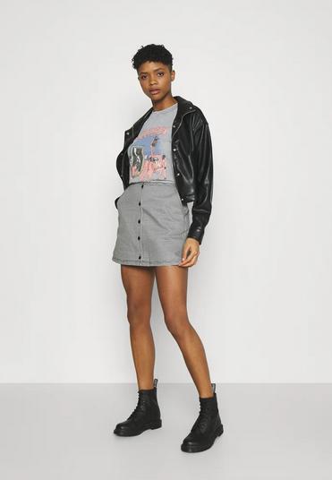 Creeper Mini Skirt-2
