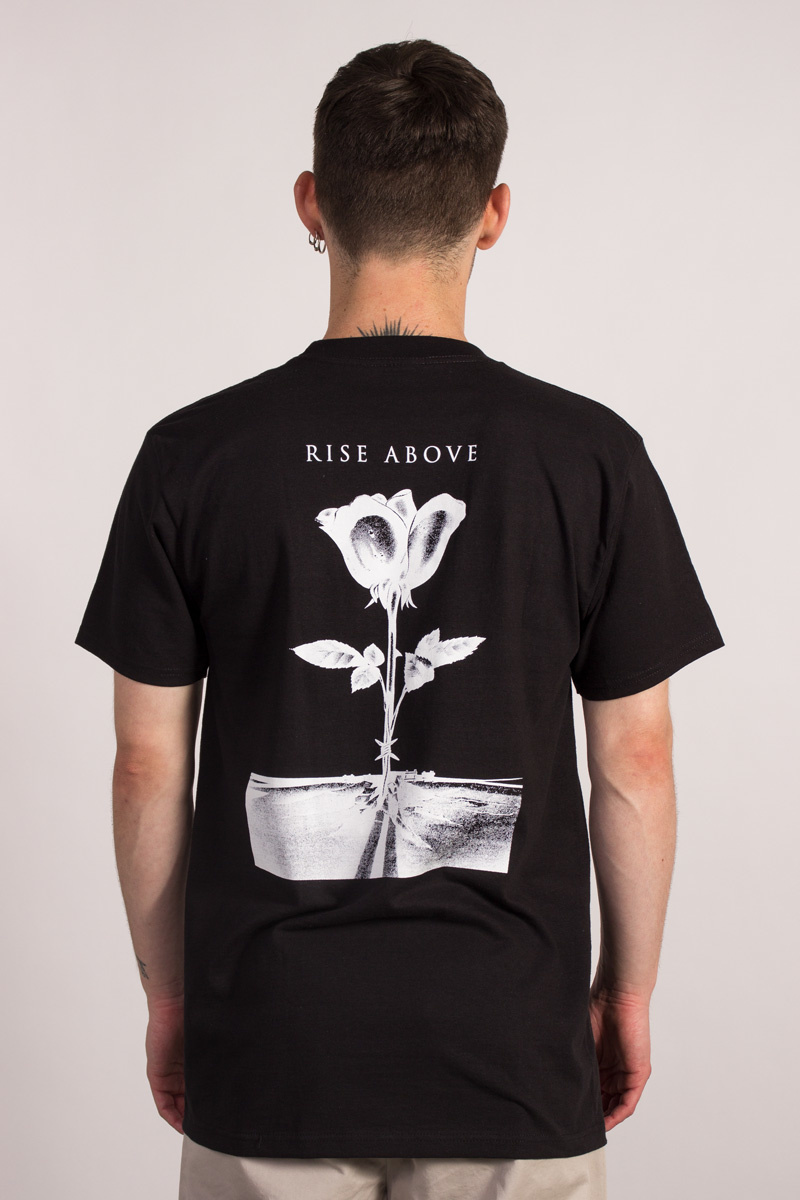 Rise Above Rose T-shirt-1
