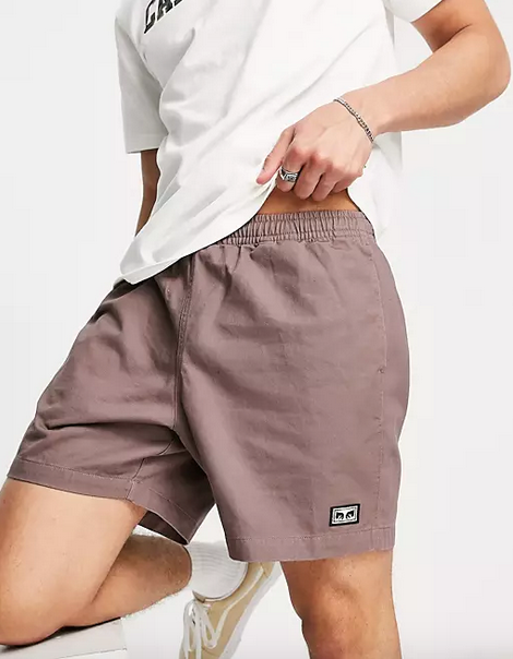 Easy Relaxed Twill Short-1