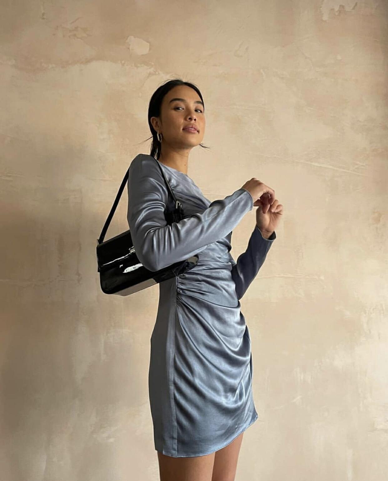Lily Longsleeve Mini Dress-2