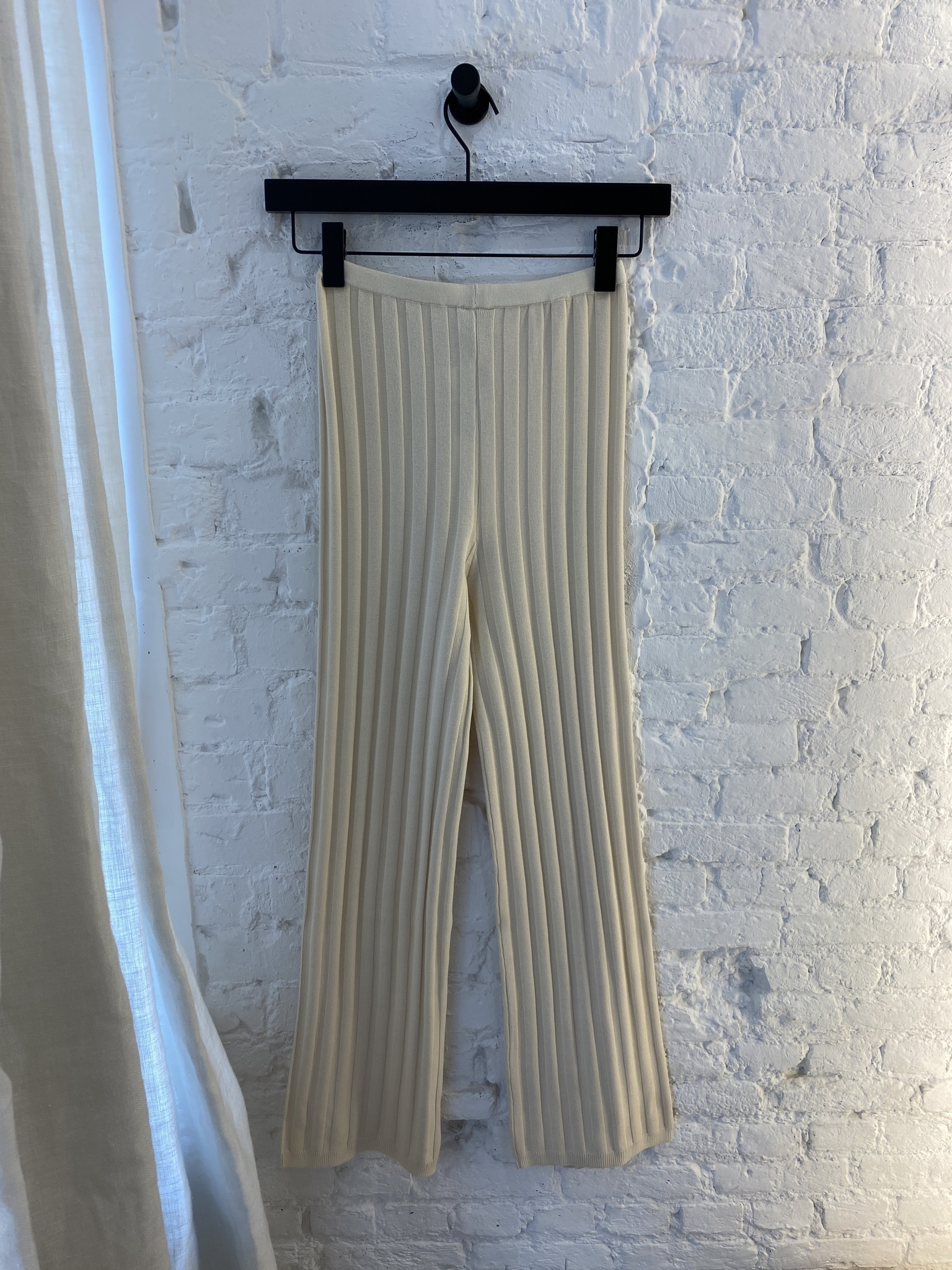 Dale Ribbed Knit Trousers-7