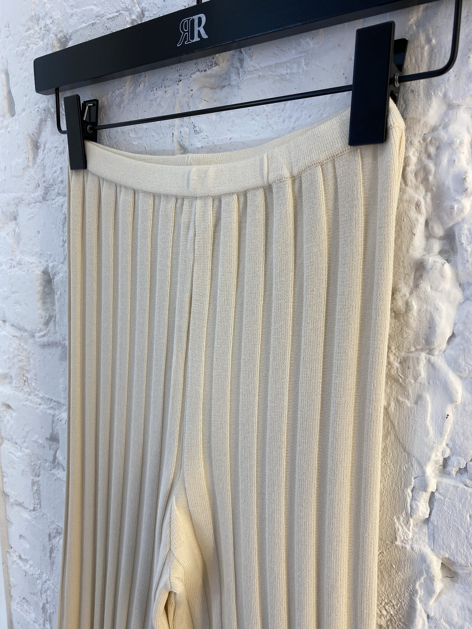Dale Ribbed Knit Trousers-8