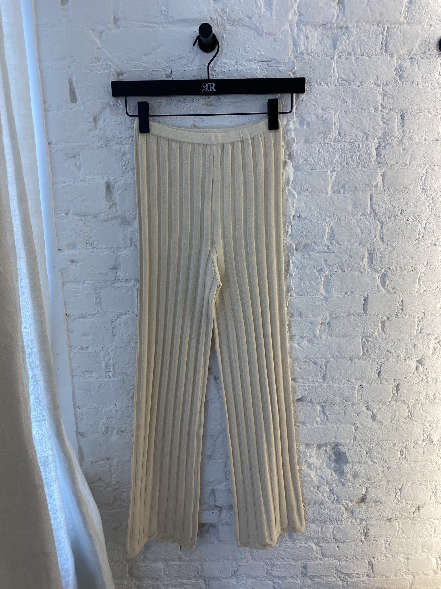 Dale Ribbed Knit Trousers-9