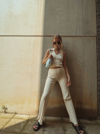 RR Dale Ribbed Knit Trousers