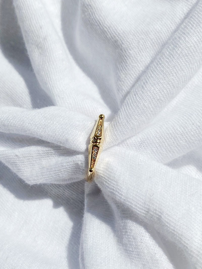 RR Bicone Ring