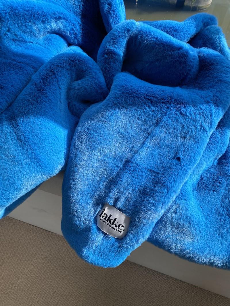 RR Rita Faux Fur Oversized Jas