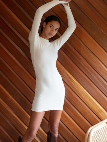 RR Slit Sleeve Dress