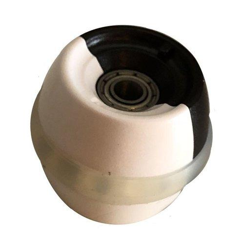 Cyberhuis Rubber wheel with bearings