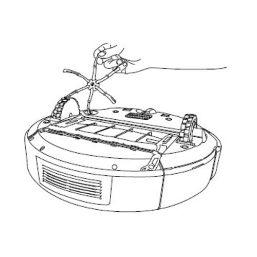 iRobot Roomba e-i linkerwiel