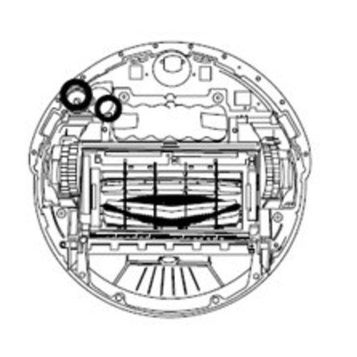 iRobot Zijborstelmotor grijs Roomba