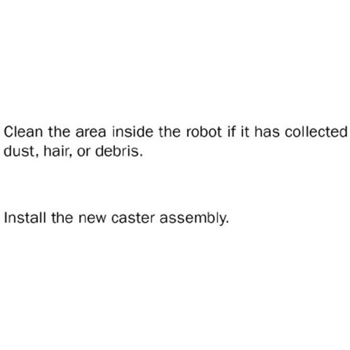 iRobot Roomba 500 Front Castor assembly