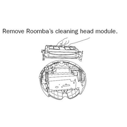iRobot Borstelmotor unit Roomba 5,6,700