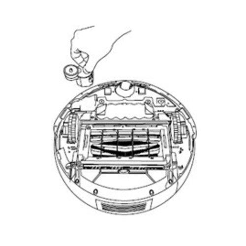 iRobot Zijborstelmotor Roomba 5/6/700