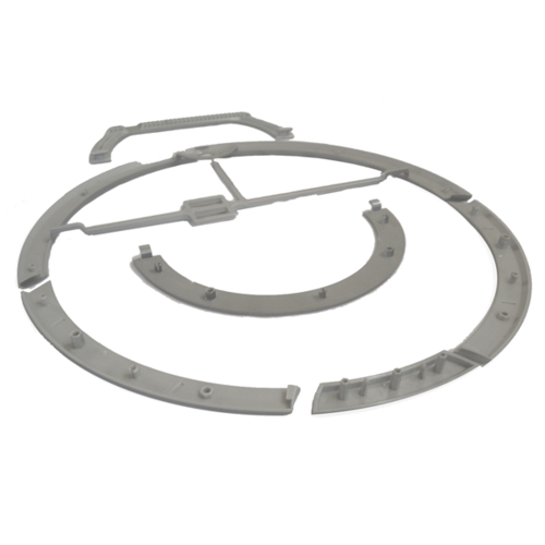 iRobot Roomba 760/780 Trim and Handle Pewter (old model) - out of stock. Only showed on this website to show the difference compared to the new model.
