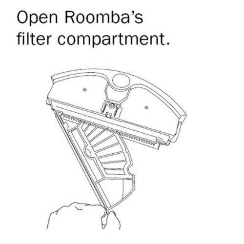 iRobot Roomba 500 filters and sidebrushes (3 pcs)