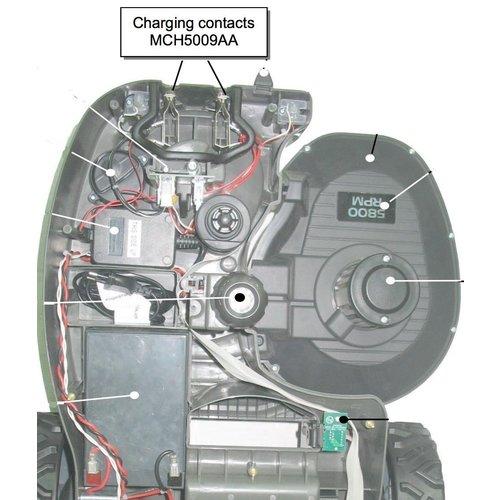 Robomow RM laadcontact