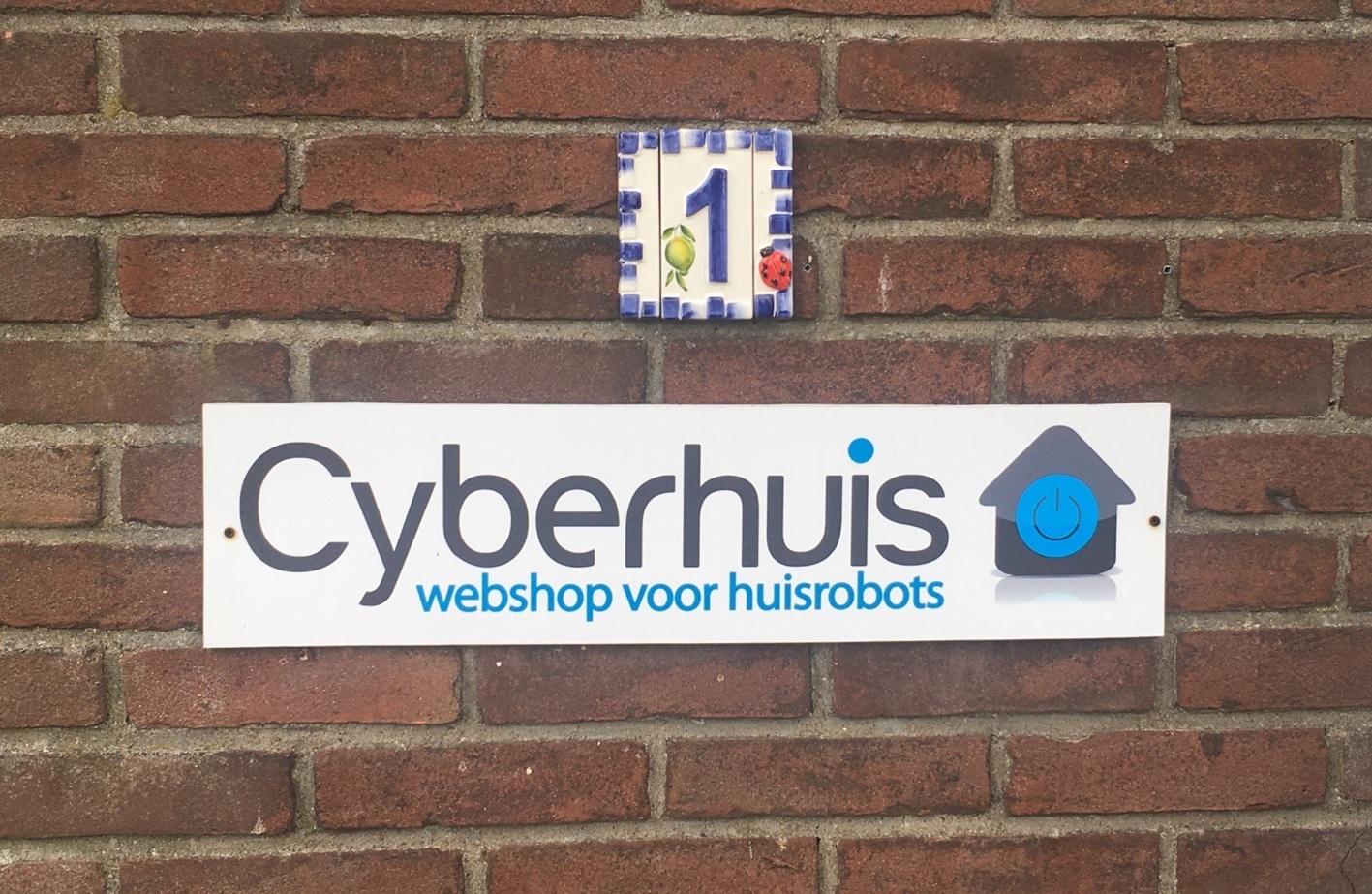 Huisnummer Cyberhuis