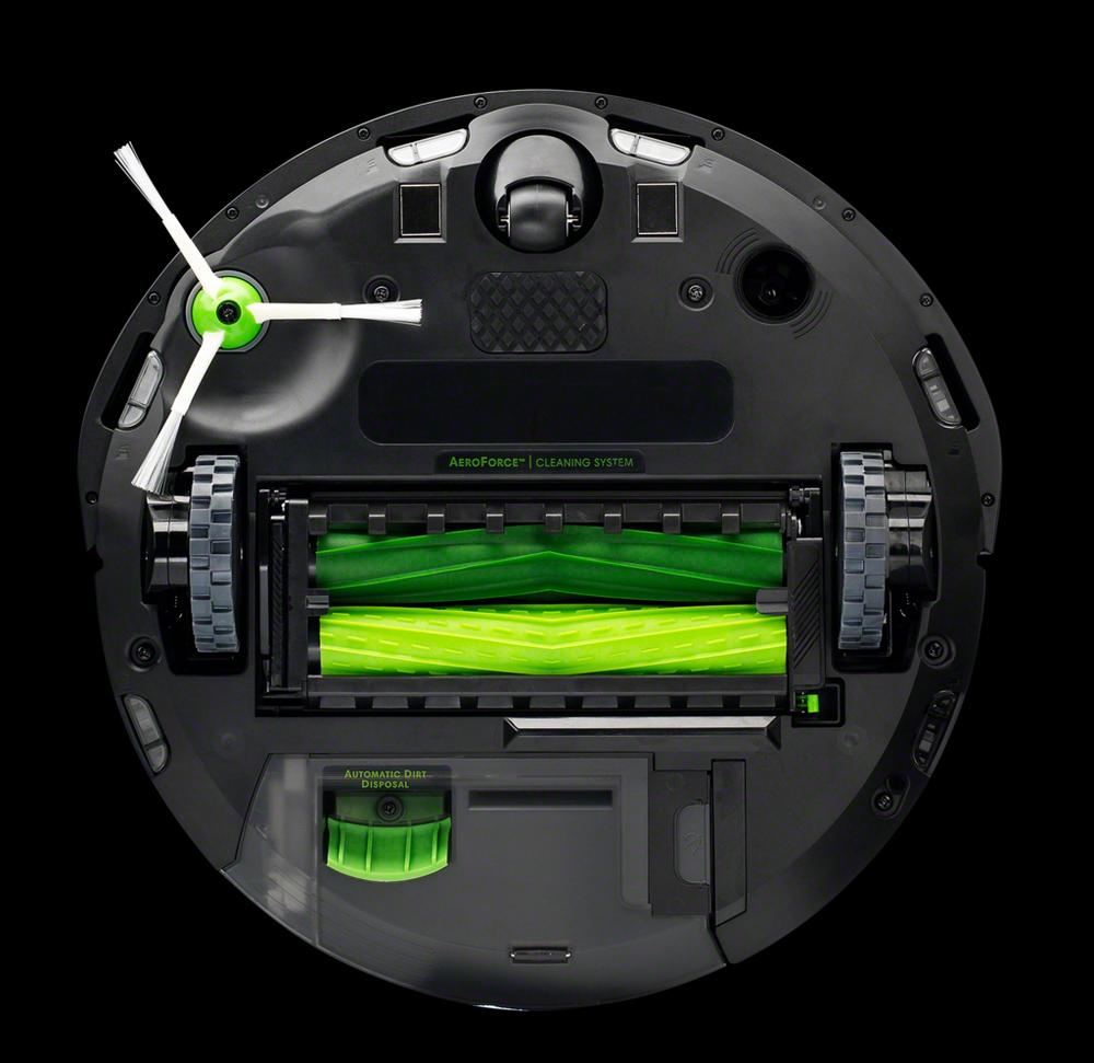 Onderkant van de i7 Roomba