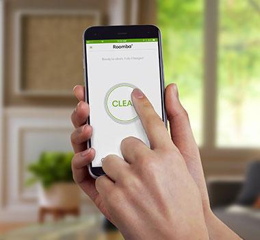 using the iRobot Home App