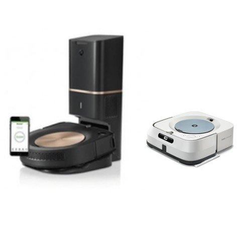 iRobot Roomba® s9 and Braava® m6 combi