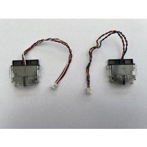 iRobot Cliff sensors, at the backside