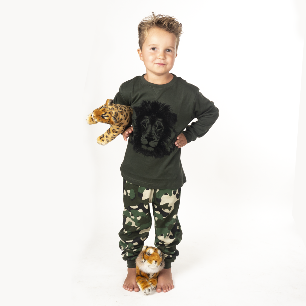 Frogs and Dogs PJ's Leeuw Pyjama Frogs and Dogs PJ's