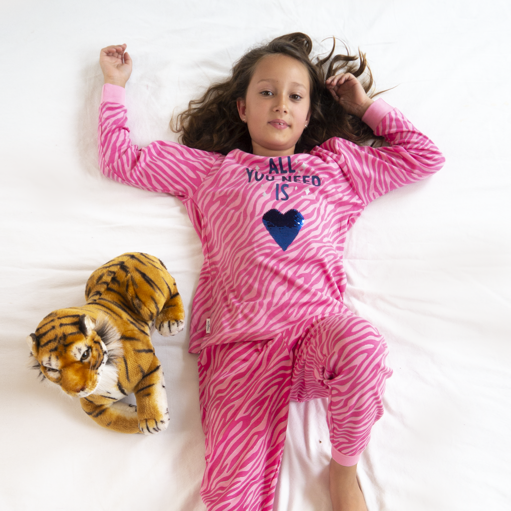 Frogs and Dogs PJ's Love Pyjama Frogs and Dogs PJ's Geprint