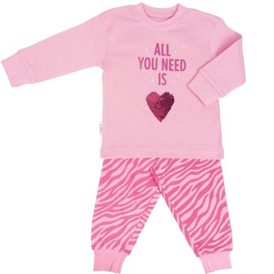Frogs and Dogs PJ's Pyjama All You Need Roze