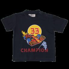 Fun2Wear Champion Shortama Fun2Wear Jongens Meisjes Navy | Pyjama Korte Mouw