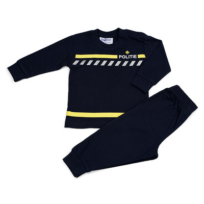 Fun2Wear Politie Uniform Pyjama Fun2Wear Navy