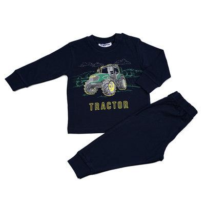 Fun2Wear Tractor Pyjama Fun2Wear Jongens Navy