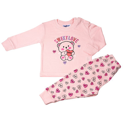 Fun2Wear Sweet Love Pyjama Fun2Wear Light Pink