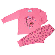 Fun2Wear Sweet Love Pyjama Fun2Wear Pink
