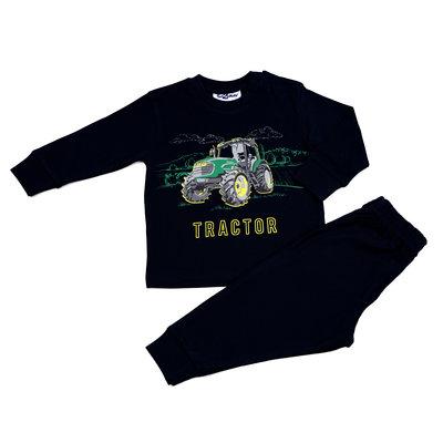 Fun2Wear Pyjama Tractor Zwart