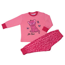 Fun2Wear Little Rebel Pyjama Fun2Wear Meisjes Roze