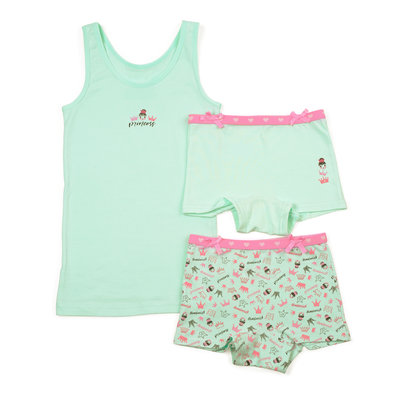 Funderwear Set Princess Mint
