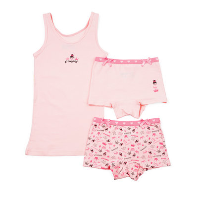 Funderwear Set Princess Roze