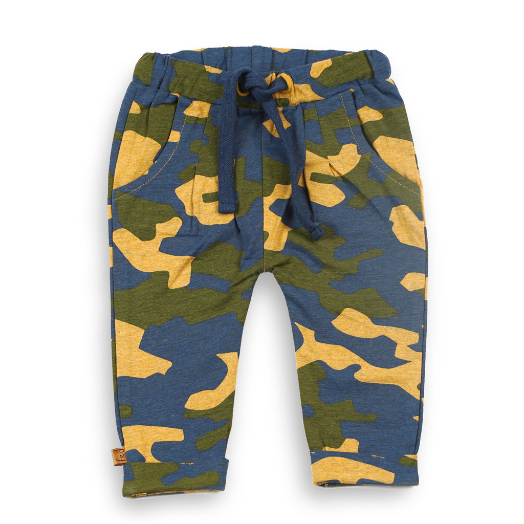 Frogs and Dogs Broekje Camo Camouflage Baby