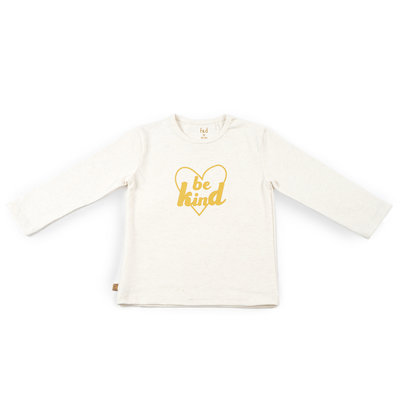 Frogs and Dogs Shirt Be Kind Hearts Offwhite