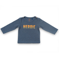 Frogs and Dogs Shirt Heroic Camo Navy Baby