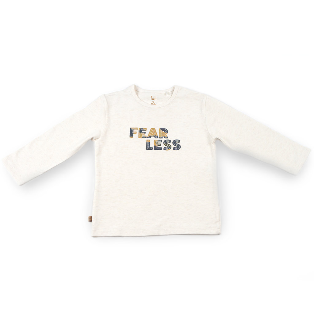 Frogs and Dogs Shirt Fearless Camo Offwhite Baby