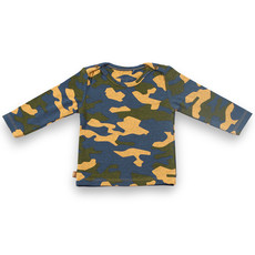 Frogs and Dogs Shirt Camo Camouflage Baby