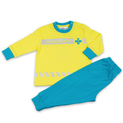 Fun2Wear Pyjama Ambulance Geel