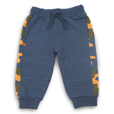 Frogs and Dogs Broek Camo Camouflage Navy Mini