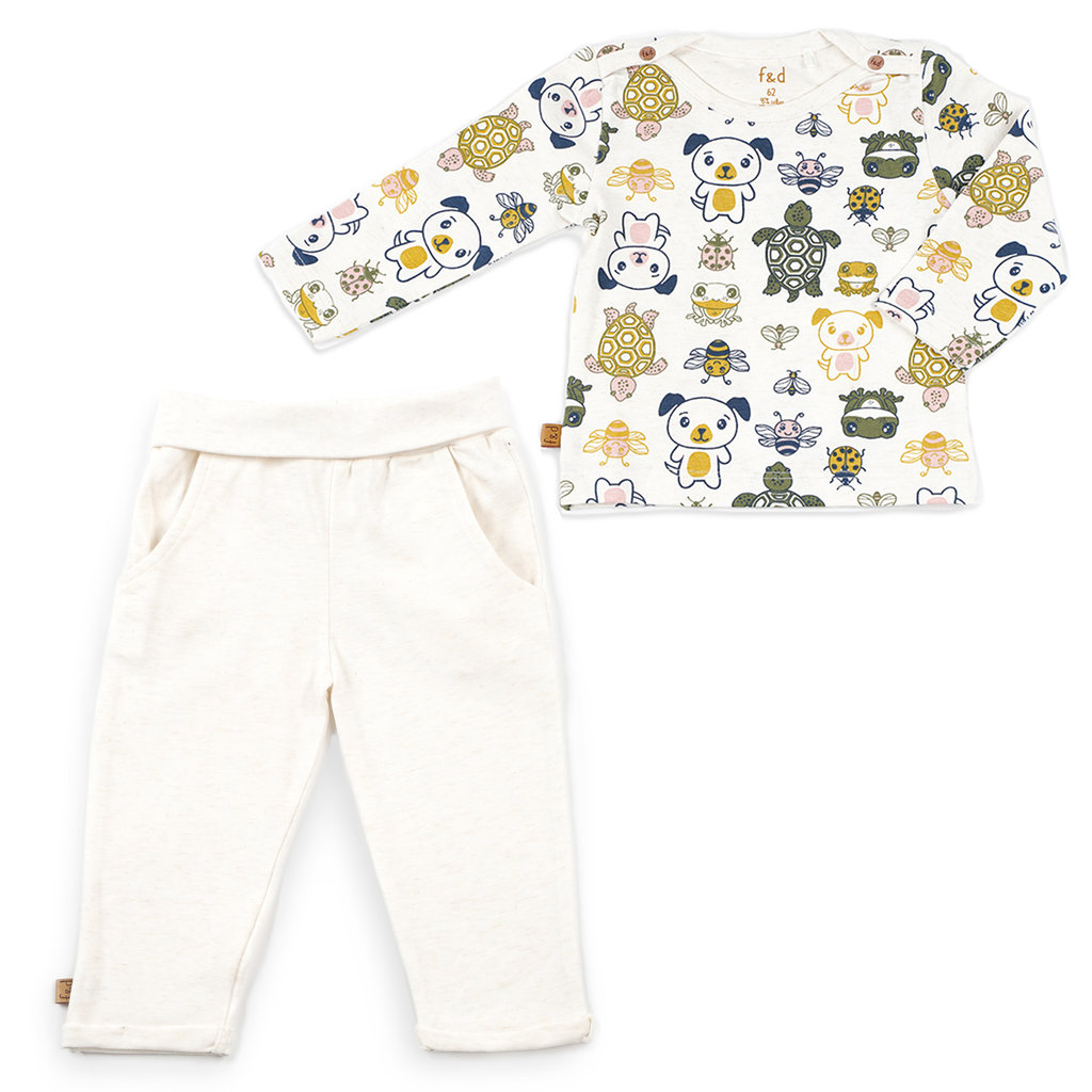 Frogs and Dogs Kledingset unisex