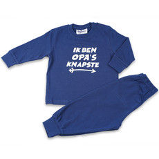 Fun2Wear Pyjama Opa's Knapste Navy