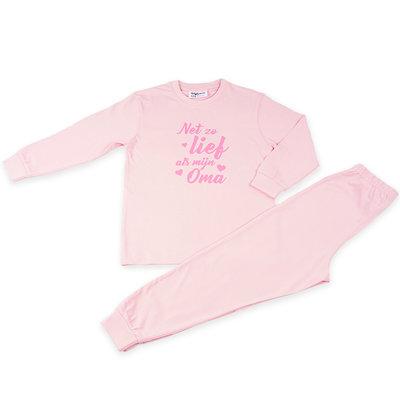 Fun2Wear Pyjama Lief Als Oma Roze