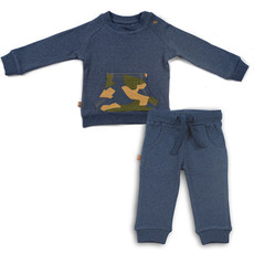 Frogs and Dogs Joggingpak Camo Navy Baby
